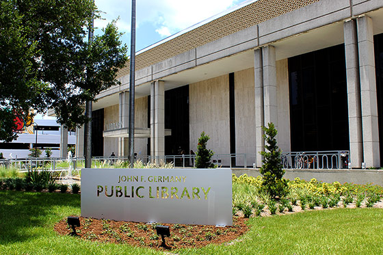 Image: John F. Germany Public Library