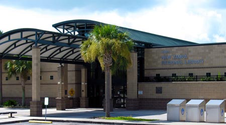 Image: New Tampa Regional Library