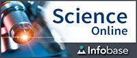 Science Online logo with beakers full of chemicals
