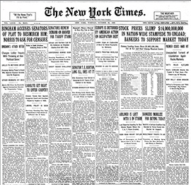 Historical Newspapers: The New York Times