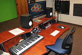 Recording studio at the John F. Germany Public Library